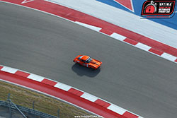 Greg Thurmond driving his Corvette at Circuit of the Americas
