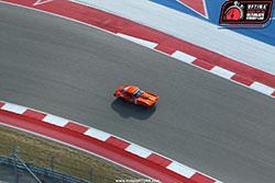 Greg Thurmond driving his Corvette at Circuit of the Americas