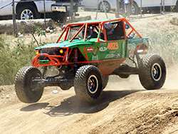Brothers Kyle and Jade Wickham compete in the 4800 Legends Class of the Ultra4 Racing Series