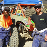 Jade Wickham (Left) and Kyle (right) rely on Spectre High Performance Racing air filters