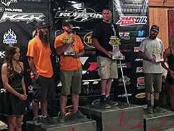Kyle and Jade Wickham of Hagerman, Idaho took second place in the Ultra4 Racing