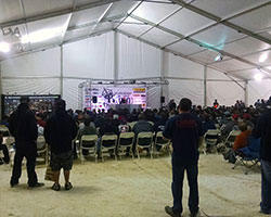 During the KOH SmittyBilt Every Man Challenge Drivers' meeting it was announced that there were 96 entries