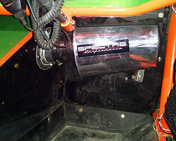 The Wickham brothers decided to upgrade to a new Spectre custom air intake