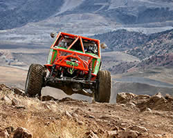 Spectre Performance sponsored Wickham Racing team of brothers Kyle and Jade Wickham compete in the 4800 Legends Class of the Ultra4 Racing Series
