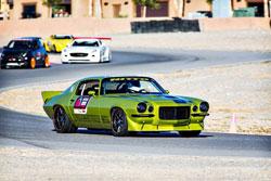 Randy Johnson's 1972 Chevy Camaro attracted visitors at SEMA 2013