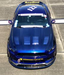 Overhead shot of Code_blu at the Texas Mile