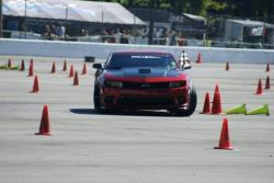 Photo of Jason Luebcke out on course at the autocross at Holley LS Fest