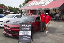 Photo of Kay and Jason and Bama, Hooker Headers Official Exhaust Test vehicle at Holley's LS Fes