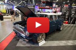 Suzy Bauter Brings Her 1963 Rambler Wagon to the 2017 Spectre SEMA Booth