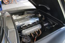 Under that custom blower cover sits an LS9 that breathes through a Spectre filter and custom intake