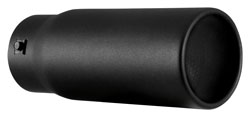 The Spectre 22362 exhaust tip fits 2-inch to 3-inch exhaust tubing.