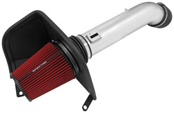 The key to the system is the oversized Spectre HPR reusable low restriction air filter