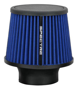 Spectre offers many different sizes and colors of clamp-on cone style air filters