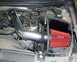 A Spectre Performance late model air intake, like 9925, is designed to add horsepower, torque, and a custom look to 2004-2008 Ford F150 models with a 5.4-liter V8 engine