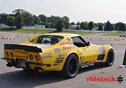 RideTech driver Chris Smith was at the Goodguys Heartland Nationals in the Spectre equipped 48-Hour Chevy Corvette