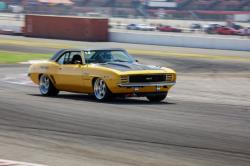 Photo of Efrain Diaz on infield course at Autoclub Speedway, Fontana