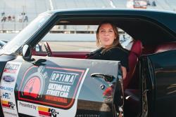 Brandy Phillips in the Intro Wheel Camaro
