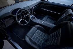 Interior upgrades have significantly updated the nearly 50 year old car