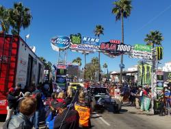 Shot of the Start Line at this years Baja 1000 presented by SCORE