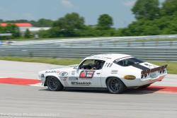 Shot of Brian on the road course at Optima's National Corvette Museum Qualifying event
