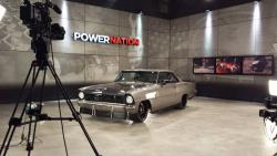 Shot of the studio/set of TV Show POWERNATION where Brian will appear throughout 2017
