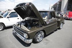 Mark's truck looked gorgeous under the sun at the Las Vegas Motor Speedway for LS Fest West