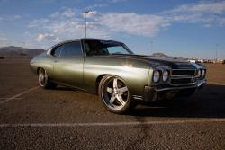 After 25 years of daily driver duty Chris's Chevelle has become a head-turning Pro Touring machi