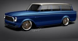 The Suzy Bauter 1963 Rambler will be on display at the Spectre Performance booth at 2017 SEMA