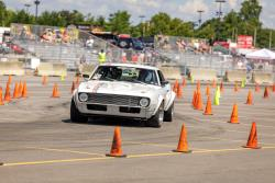Suzy regularly competes in autocross events with her 1968 Chevy Camaro