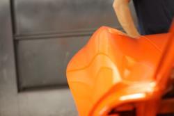Rear quarter panel of Greg Thurmonds '65 Corvette