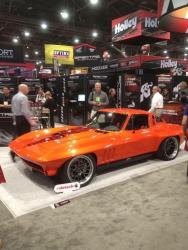 SCAR, the 1965 Corvette revealed at SEMA 2015 in the Spectre Performance booth