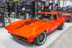 Photo of SCAR in the 2015 SEMA Show Spectre Booth