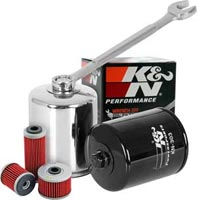 K&N Premium Oil Filters for the Snowmobile